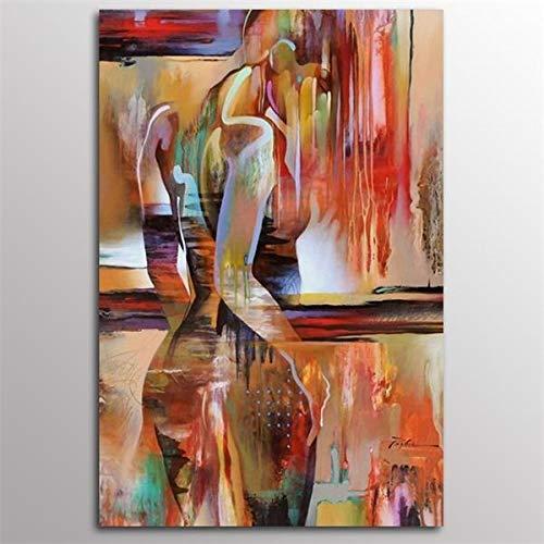 Canvas schilderij decoratie, Canvas Kunst Aan De Muur Moderne Druk Van De Kunst Schilderen Afrikaanse Vrouwen Posters En Prints Picture For Home Living Room Sexy Body