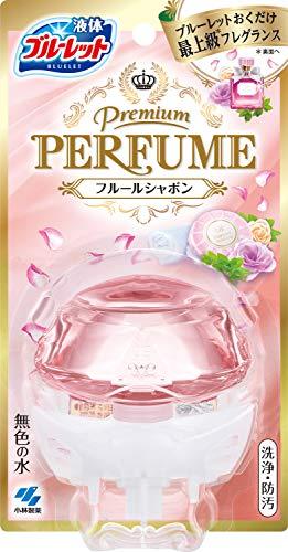 ブルーレット プレミアムパフューム トイレタンク芳香洗浄剤 本体 フルールシャボン 70ml