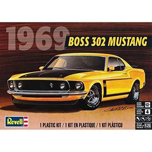 Revell Plastic Model Kit-69' Boss 302 Mustang 1:25