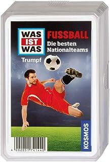 Kosmos 741440 Was Ist Was Fotboll Trumpf Spel, 9.6 x 6.4 x 1.6 cm