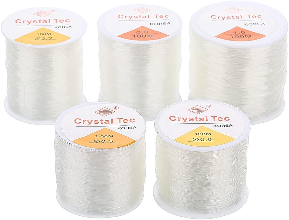 1mm Elastic String Genuine Crystal Stre Stretchy Bracelet Same day shipping Thread