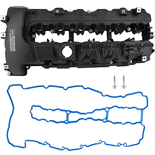 BOXI Engine Valve Cover Replacement for BMW 135i 335i 535i 740i 740Li M2 M235i M240i X6 Z4 L6 3.0L 11127565284