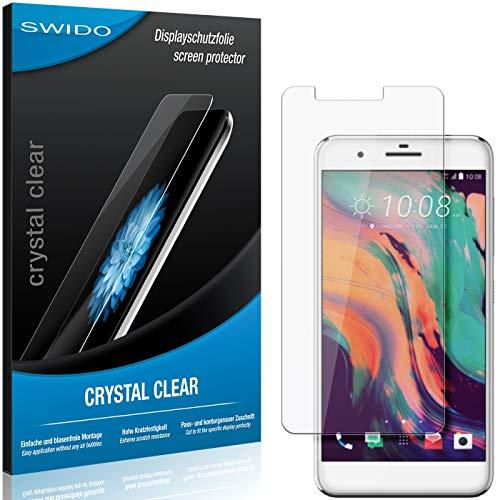 SWIDO Schutzfolie für HTC One X10 [2 Stück] Kristall-Klar, Hoher Festigkeitgrad, Schutz vor Öl, Staub & Kratzer/Glasfolie, Bildschirmschutz, Bildschirmschutzfolie, Panzerglas-Folie
