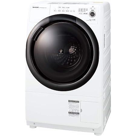 シャープ ドラム式 洗濯乾燥機 ヒーターセンサー乾燥 右開き(ヒンジ右) 洗濯7kg/乾燥3.5kg ホワイト系 幅640mm 奥行600mm DDインバーター搭載 2021年春モデル ES-S7F-WR