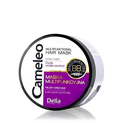 Multifunctional Mask for Curly Hair with Argan Oil and Keratin 200ml by Delia Cosmetics