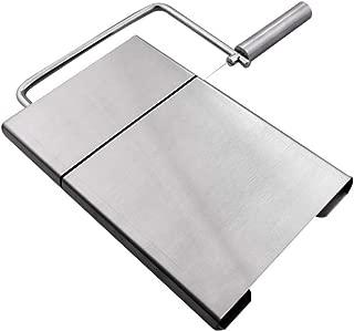 mxdmai Queso de Acero Inoxidable máquina de Cortar Cortador de Alambre para el curado y Semi Duro de Corte Mantequilla Queso de la porción 1pc Junta