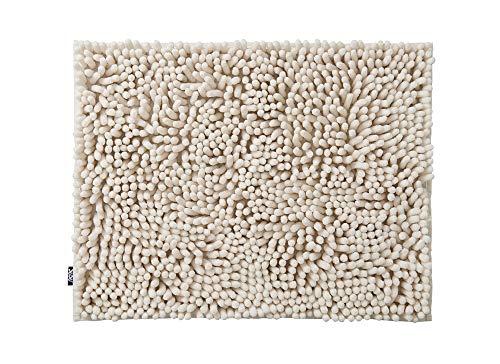 山崎産業バスマット吸水マイクロファイバーSUSUPremiumふわもこセレブ抗菌アイボリーM45x60cm174768