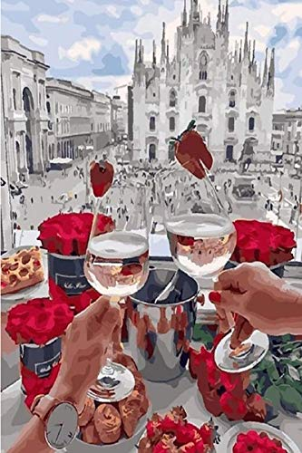 Wooden Puzzles 1000 Pieces Puzzles for Adults 3D Wooden Puzzles Puzzles for Adults,Wine Glass 5,Classic Jigsaw Puzzle Toy Gift