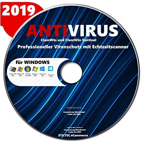 PC Computer+ Internet Security Virenschutz | Für WIN(10, 8, 7 und Vista) CD DVD