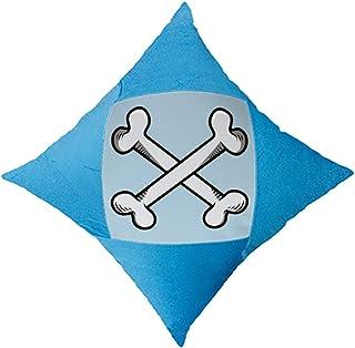OFFbb-USA - Funda de almohada decorativa para cama de coche, color azul