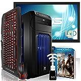 AGANDO High-End Gaming PC de paquete completo multicolor GeForce GTX1070 8GB | Windows 7 Pro AMD FX-8320 | 16GB RAM