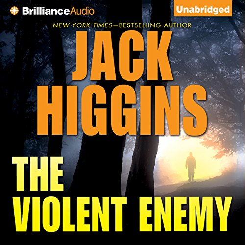 The Violent Enemy audiobook cover art