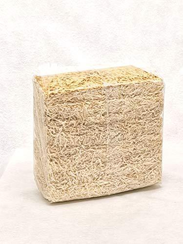 Doubleyou 1kg Holzwolle Natur | Füllmaterial | Osternest Füllung | Ostergras | Polstermaterial für empfindliche Waren