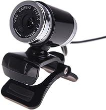Docooler USB 2.0 50 Megapixel HD Camera Web Cam with MIC Clip-on 360 Degree for Desktop Skype Computer PC Laptop Black