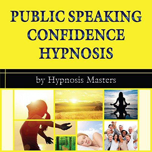 Public Speaking Confidence Hypnosis audiobook cover art