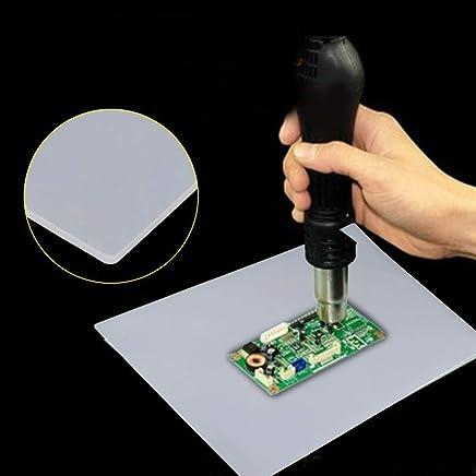 Almohadilla de silicona con aislamiento térmico, 1 pieza de soldadura con pistola de calor Estación