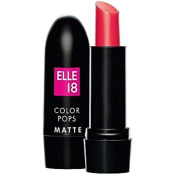 Elle 18 Color Pops Matte Lipstic (Prom Pink P26, 4.3 g)