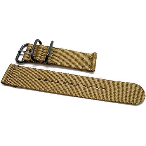 Daluca due pezzi in nylon balistico cinturino nato–sabbia (fibbia...