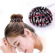 YouU 3 St/ück Dutt Netz Haarnetz Bun Frisurenhilfe Stoff Knotennetz f/ür Gymnastik Rhythmische Sportgymnastik Ballett Reiten Eiskunstlauf Tanz Knotennetz mit Perle