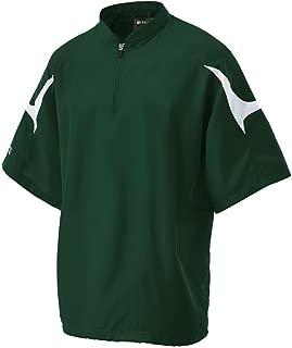 Holloway Adult Polyester Short Sleeve Equalizer Jacket-Graphite/White