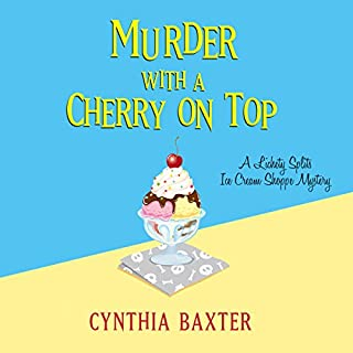 Murder with a Cherry on Top audiobook cover art