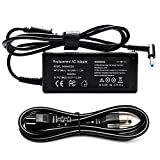 65W AC Adapter Laptop Charger for HP 15 15-f009wm 15-f023wm 15-f039wm 15-d035dx 15-r132wm 15-r029wm 15-g073nr 15-g074nr 15-g019wm Pavilion 15 17 Series 15-n040us 17-e049wm 17-e109nr Power Supply Cord