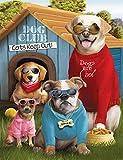 Lxappy Juego de pintura de diamante 5D, caseta de perro, DIY redondo, mosaico, bordado de diamantes, bordado, manualidades, decoración de pared, 40 × 50 cm