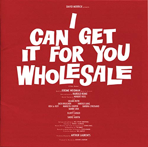 I Can Get It For You Wholesale (1962 Original Broadway Cast)