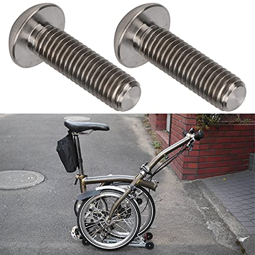 Annjom Bicycle Lever Screw, Bicycle Brake Lever Screw High Strength Compatible Lightweight for Bicycle