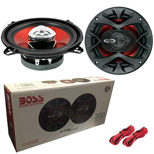 PAREJA DE ALTAVOCES DIFUSORES BOSS AUDIO SYSTEM CH5520 CH 5520 DE 13,00...