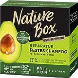 Nature Box Reparatur Festes Shampoo Avocado-Öl,...