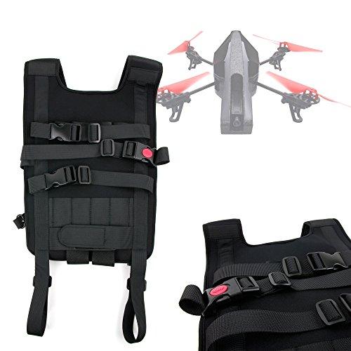 DURAGADGET Mochila/Arnés Ajustable para tranporte de Dron