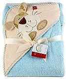 Baby Badehandtuch mit Kapuze. Mikrofaser - Kinder Kapuzenhandtuch - Warm und kuschelig!