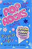 POP ROCKS Popping Candy, Cotton Candy, 24 Count
