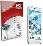 atFolix Schutzfolie kompatibel mit ZTE Nubia M2 Lite Folie, ultraklare & Flexible FX Bildschirmschutzfolie (3X)