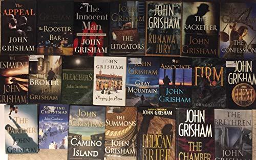 John Grisham 20 Novel Hardcover Set