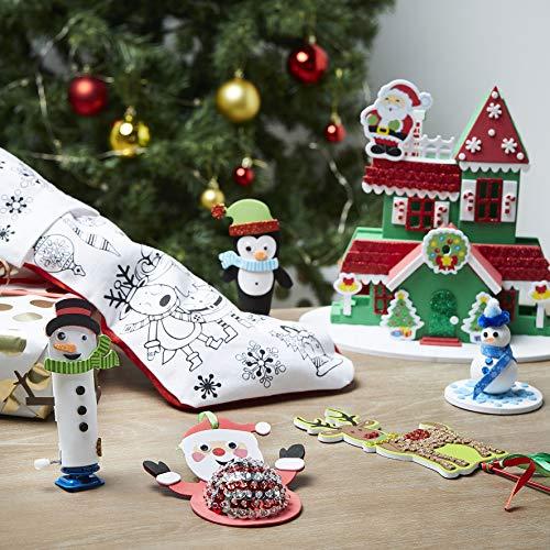 Lot de 6 Kits Loisirs créatifs - décoration de Noël pour enfants