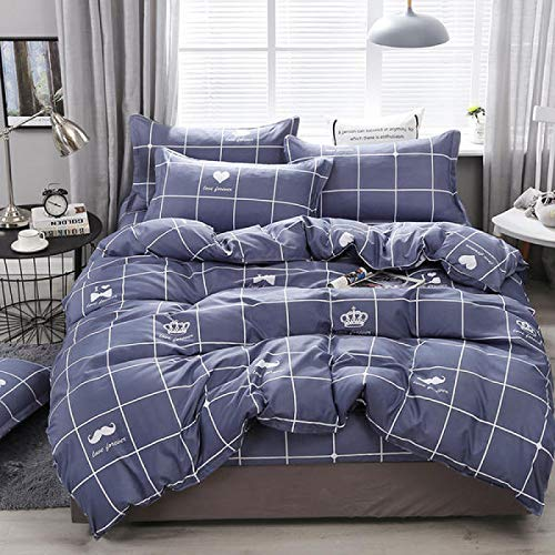 Four-Piece Bedding dft, Double Duvet Cover, Bed Sheet, Student Dormitory Three-Piece dft, Net Celebrity Bedding All dfasons