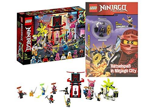 Ninjago Lego: 71708 Ninjago – Plataforma de mercado + juego de ninjago en la ciudad de Ninjago