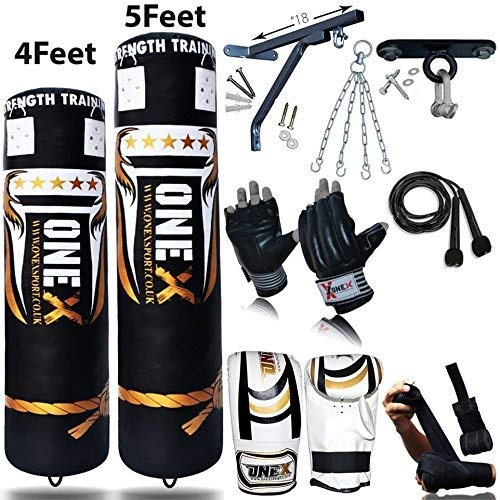 strong  3-4-5ft Heavy Filled Punch Bag Pro Buyer Build Set,Chains,Bracket