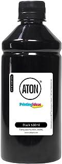 Compatível: Tinta para Cartucho HP 664   664XL Black 500ml Pigmentada Aton Tinta para Cartucho HP 664   664XL Black 500ml ...