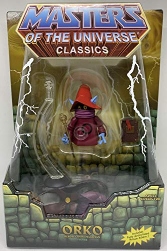 Masters of the Universe MotU Classics Figur: Orko & Prince Adam 2er Set
