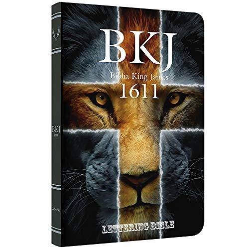 Bkj 1611 Ultrafina Lettering Bible - Leão