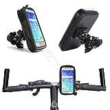 MOELECTRONIX HQ Fahrrad Halterung Wasserdicht Handy Halter Tasche Bike Holder passend für Jiayu G4 / G4S / G4C