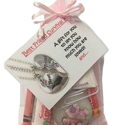 Bagsoflove Gifts Best Friend Survival Kit - Friendship Gift - Best Friend...