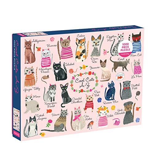 Cool Cats A-Z Puzzle: 1000 Pieces