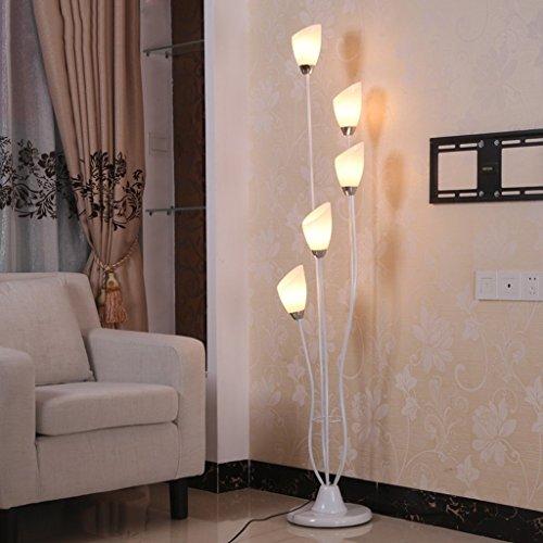 Tyannan Lámpara de la sala de estar dormitorio Lámpara minimalista moderna de la lámpara de hierro forjado Sala Decoración Lámpara de lectura