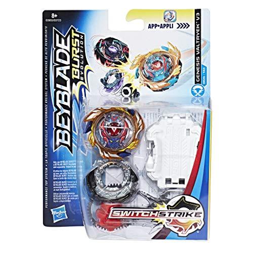Beyblade - Peonza con Lanzador GENESIS VALTRYEK V3 (Hasbro E0955EL2)