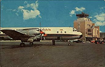 Exterior View of Weir Cook Airport Indianapolis, Indiana Original Vintage Postcard