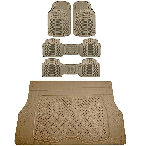 FH-FM908 Custom Fit Carpet Floor Mats For 2007-2011 Honda CR-V Black :